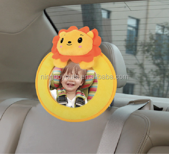 CC0008 BABY SAFETY CAR MIRROR Back Seat Mirror -Round Shape Baby & Mom Rear View Mirror