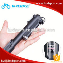 road and Moutain Bicycle floor type bike pump/ mini bike pump with a guage
