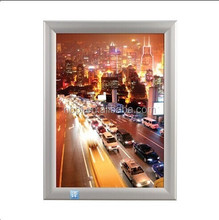 custom any size picture photo frame for wall advertising poster display