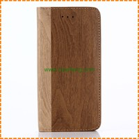 Hot Selling Wallet function Wood Pattern Leather phone case for iPhone X