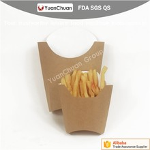Recycle paper bag for french fries paper bag