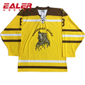100% polyester Custom Cheap Practice Hockey Jerseys