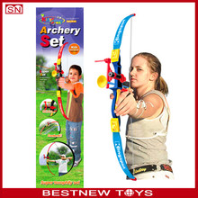Hot item boy toy bow and arrow shooting target play set