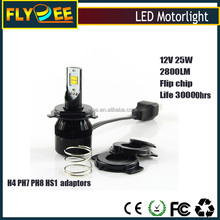 RTD led motorcycle headlight H4 high power 25W 2800lumens M5 model motorcycle led headlight