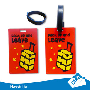 Wholesale Custom luggage tags wedding favor