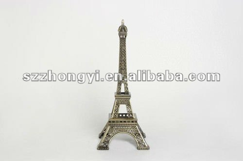Paris Eiffel Tower Souvenir / Metal Eiffel Tower Model