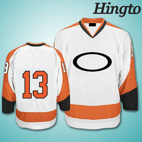 Blank custom made ice hockey jerseys manufacturer
