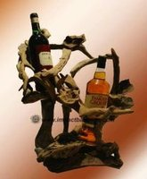 Driftwood Wine Holder
