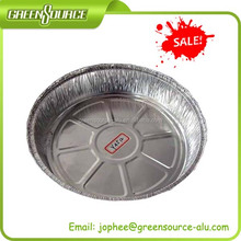Round aluminum foil container/box/pan/plate/tray