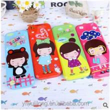 Hot selling fashion girls two layer pencil case good for gift