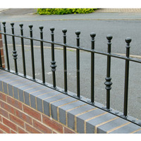 Strong Customizability Safety Wrought Iron Fencing