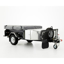utility folding travel trailer aluminum siding