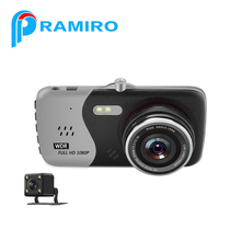"Dash cams T810 car dvr video camera recorder with 4.0"" IPS display Novatek"