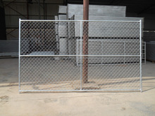 Chain link temporary fencing portable chain link fence for dog