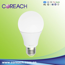 e27 led light bulb 270 degree 9W 12W plastic boby+PC cover