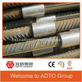 Steel rebar coupler in the material list for construction