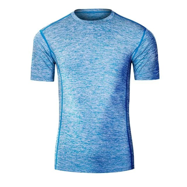 Spandex and polyester material quick dry men fitness compression <strong>shirts</strong>