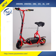 Christmas gift 300w 24v 10ah kick scooters new cheap handlebar scooter 2 wheel portable folding products kids scooter