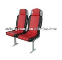 comfortable city bus seat with blow molding plastic