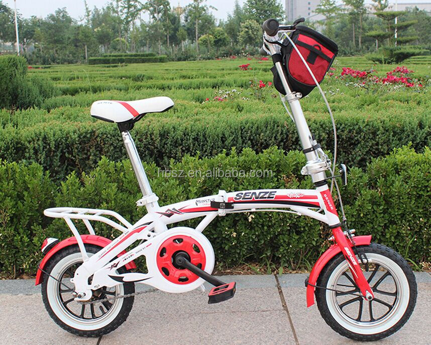 "New arrival fashionable folding bike with F/R disc brake 16"" 20"""