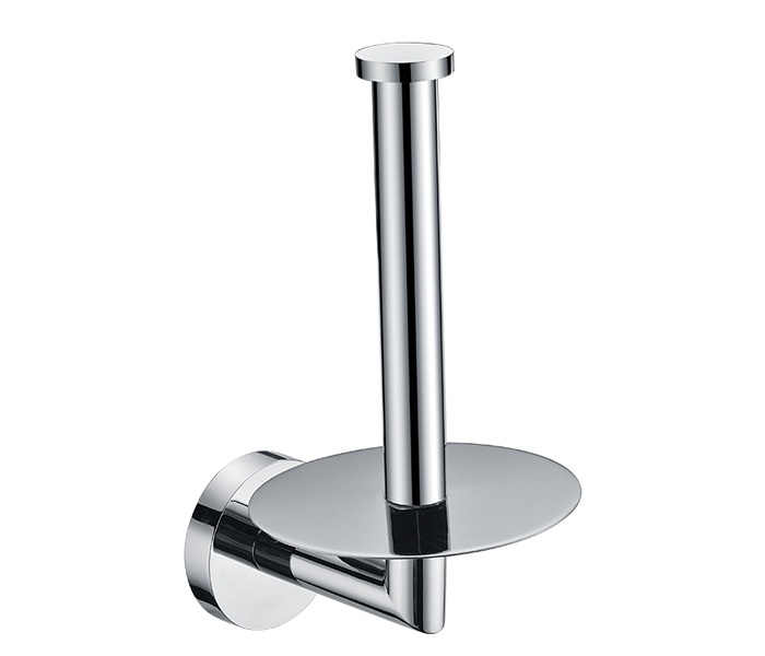 chrome plating standing toilet paper towel roll holder