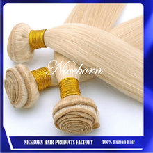 Hot sale wet and wavy hair weave different types of indian blonde wavy weave hair