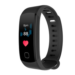 R8C Color Screen Continuous Dynamic Heart Rate Blood Pressure Smart Band Bracelet Fitness Activity Tracker