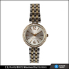 two tone watch band crystal wholesales geneva watch women