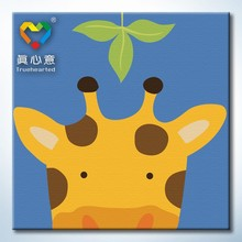 educational toys for kids 20*20cm painting picture by numbers