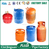 Nigeria 3kg, 5kg, 6kg, 10kg, 12.5kg LPG gas cylinder parts, empty lpg cylinder, portable gas tank for cooking