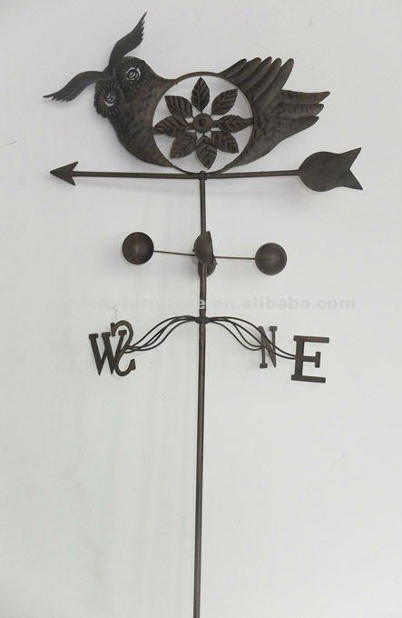 weathervane garden stakes antique metal animal bird ornament decorative iron craft yard decor high quality