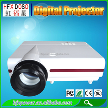 White 200 inch Screen 3500 Lumens 3D Projector Full HD Business Digital Advertising Education 3D Projector