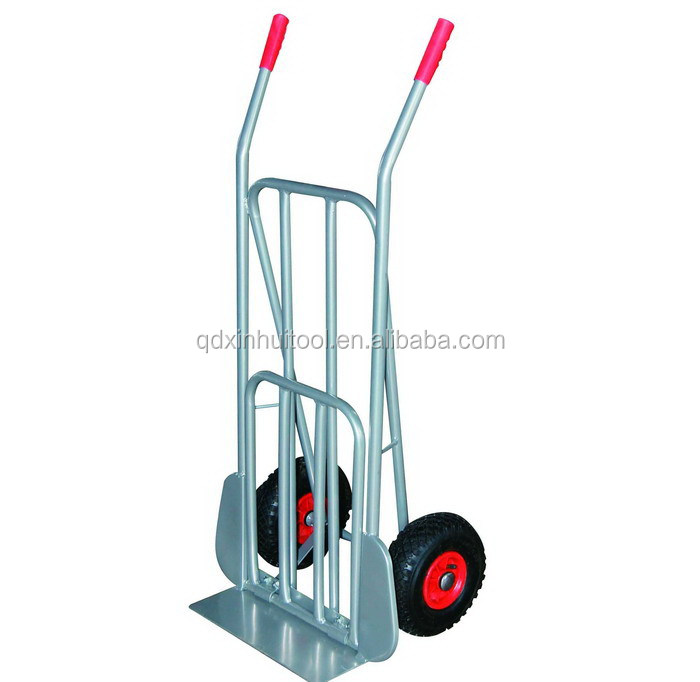 Qingdao factory storage trolleys with wheels