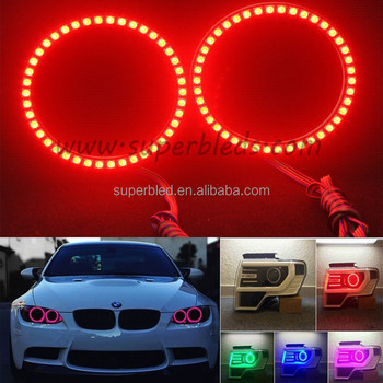 SMD5050 RGB color changing led halo ring angel eyes for bmw
