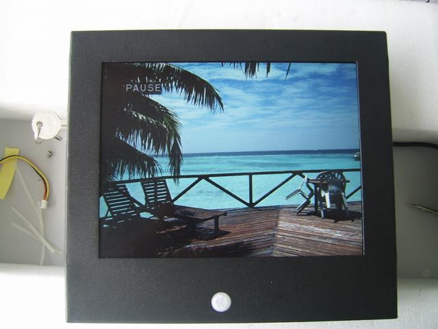 "8"" lcd ad player with motion sensor/elevator lcd"