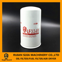 Oil filter manufacturer provide lube oil filter LF3349 for truck engine