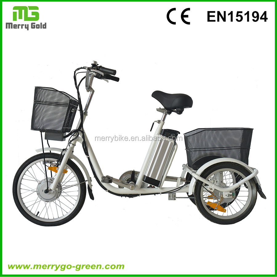 Factory price 20inch 250W Lithium Battery three wheel Electric Drift Trike for adults