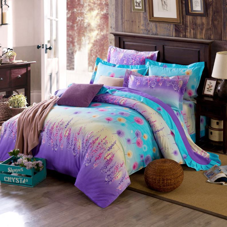 Hottest with great price bed clothes colorful