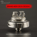 The newest well crown sub ohm RTA The Carrate 24 RTA Large caliber delrin drip tip with Adjustable airflow