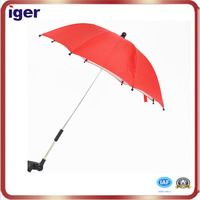 2016 High quality fashional clamp umbrellas for strollers