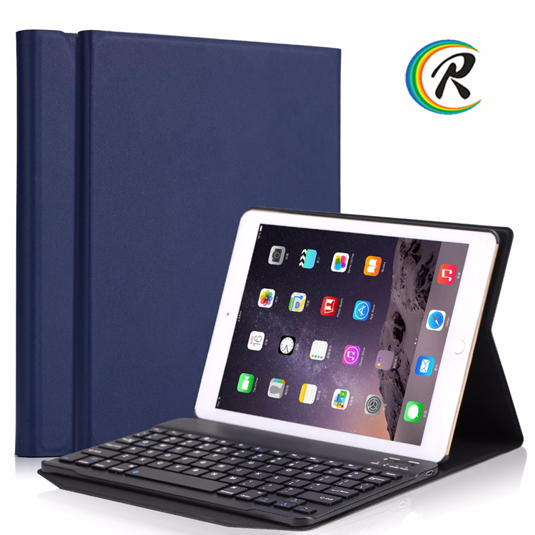 Leather Case Bluetooth Keyboard wireless keyboard For New iPad 2017 9.7 inch