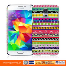 Rubber Coating Water Printing Beautiful Mobile Phone Covers For Samsung Galaxy S5