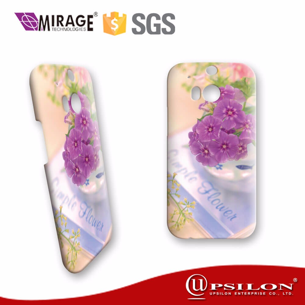 Premium Custom Glossy Matte Sublimation Phone Case For HTC M8