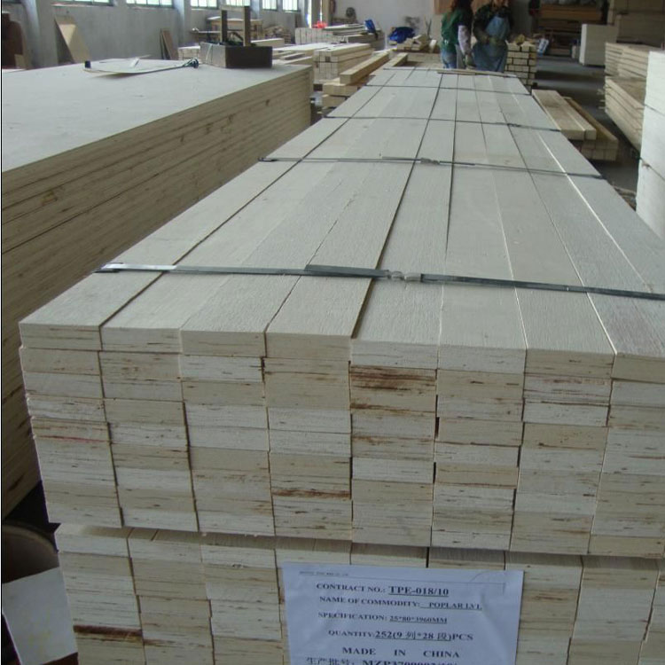 factory direct sale pine/poplar core LVL packing wood for pallet