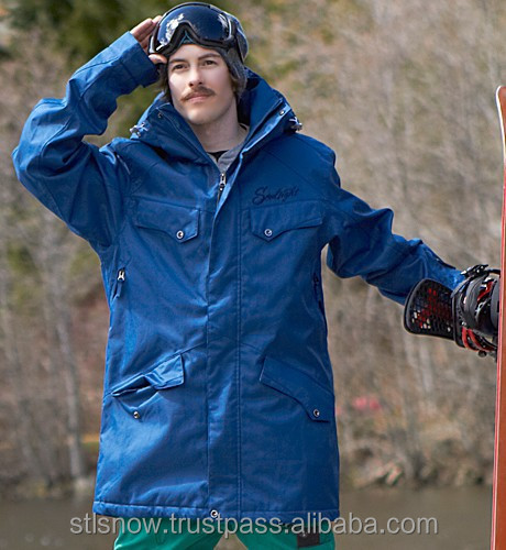 2014/2015 High quality waterproof 20000mm snowboard jacket, STL Beat Inkblue