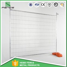 PVC painting surface treatment suit to Canada market temporary wire mesh fence