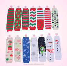 wholesale knit baby christmas hign quality leg warmer