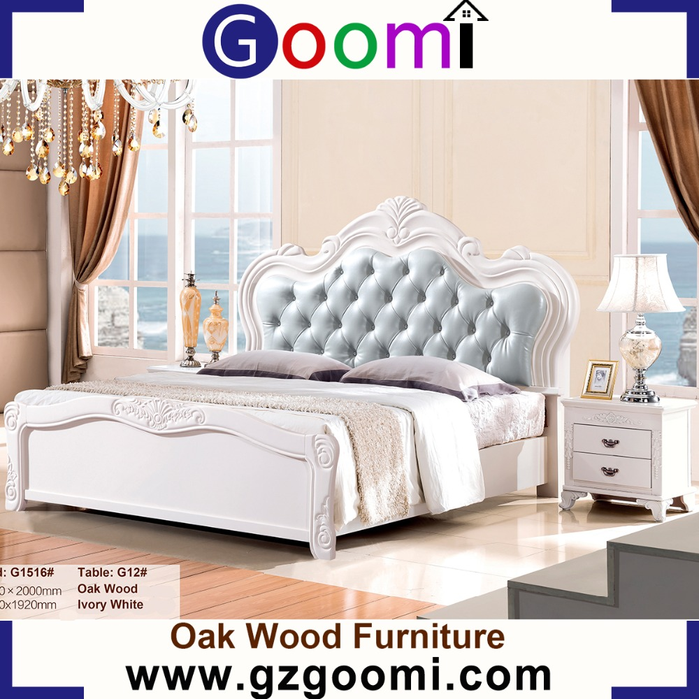 Factory Supply Goomi Bedroom American Style Adult G1516# latest bed frame