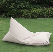 popular style outdoor recline bean bag sofa with back