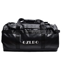 GZLBO 2018 New Style Custom 90L Large Capacity Waterproof Motorcycle Bag Reusable Folding Outdoor Sports Rolling Duffel Bag